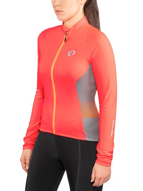 PEARL iZUMi Select Pursuit - Maillot manches longues Femme - orange